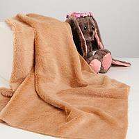 Лоскут для рукоделия, 50х50 см, мех, цвет светло-коричневый