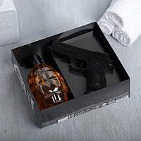 """Набор """"Мужчина №1"""" гель для душа граната 250 мл аромат мужского парфюма, мыло"""