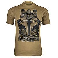 Тактическая тренировочная футболка «Mandalorian» Койот, L