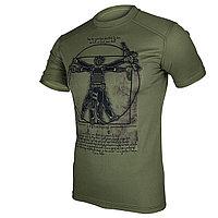 Тактическая тренировочная футболка «Soldier da Vinci»
