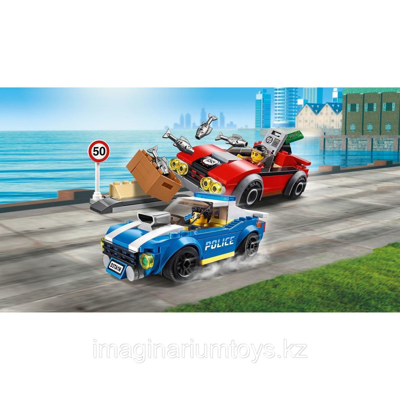 Конструктор LEGO City Лего Город Арест на шоссе 60242 - фото 5