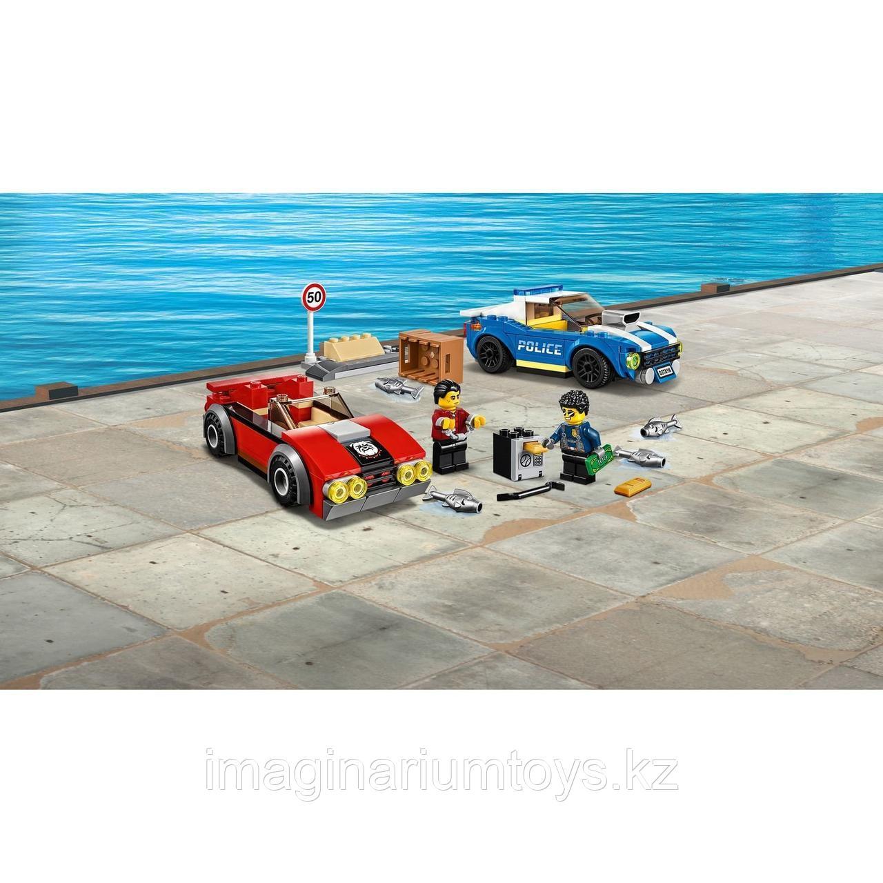 Конструктор LEGO City Лего Город Арест на шоссе 60242 - фото 7