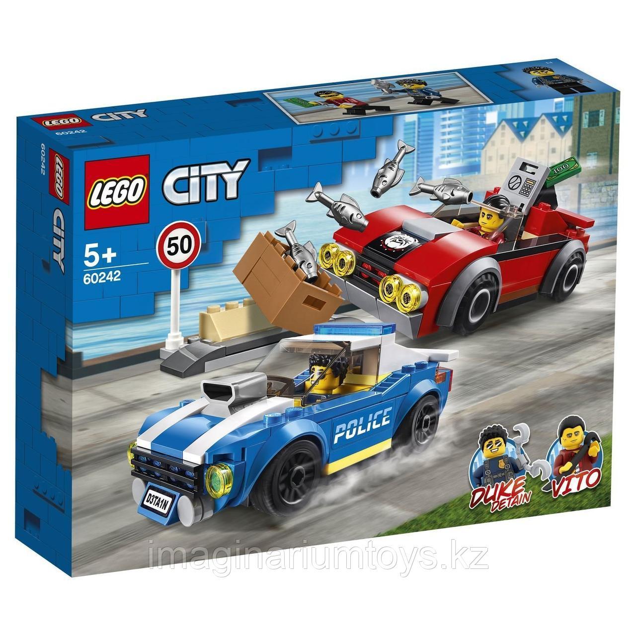 Конструктор LEGO City Лего Город Арест на шоссе 60242 - фото 4