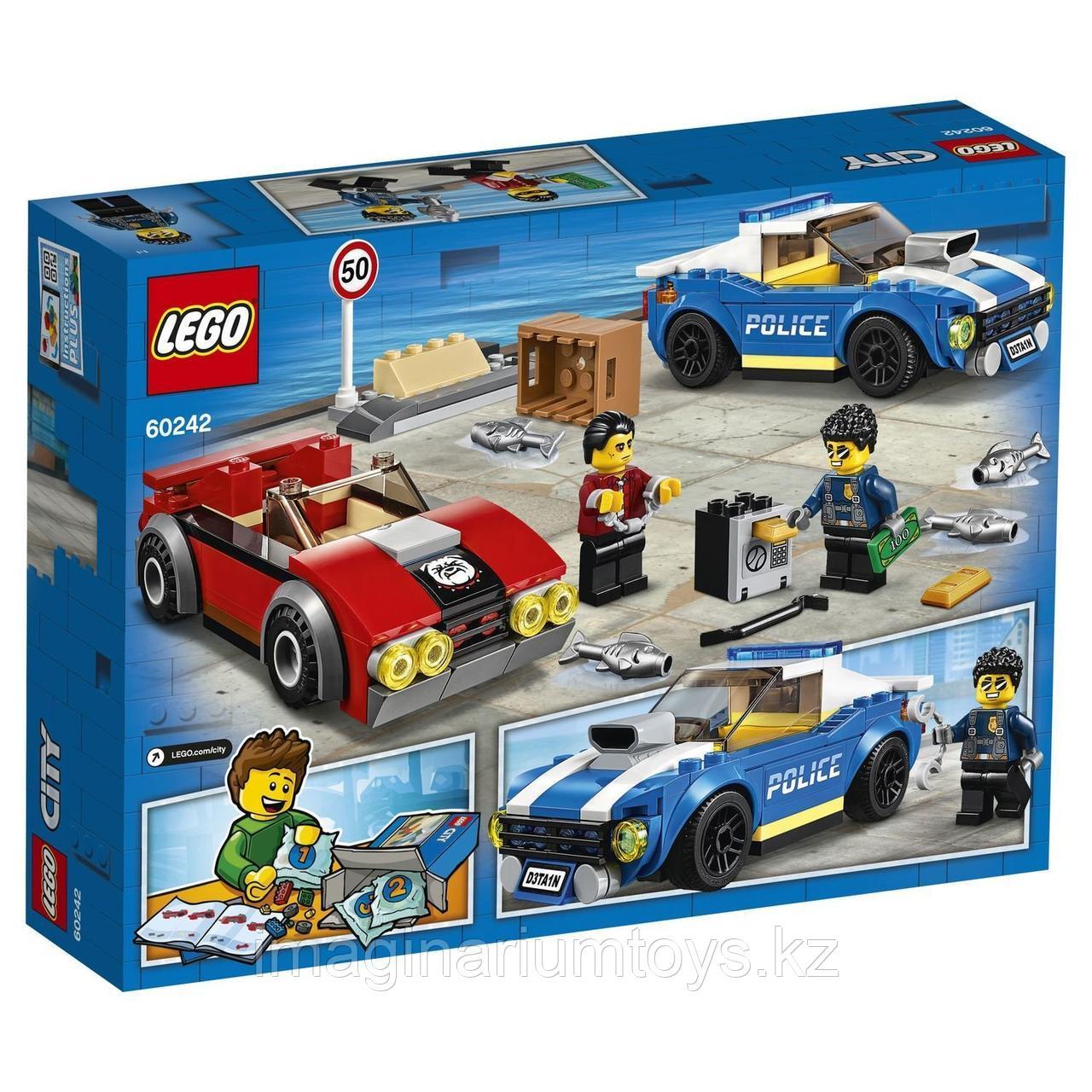 Конструктор LEGO City Лего Город Арест на шоссе 60242 - фото 6