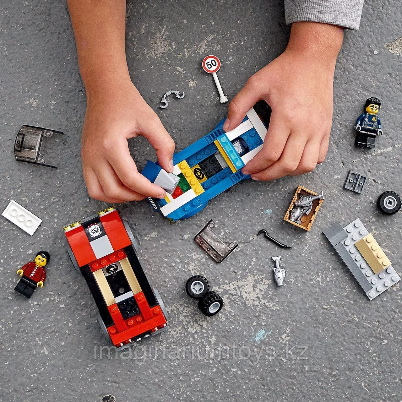 Конструктор LEGO City Лего Город Арест на шоссе 60242 - фото 8