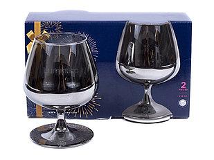 Набор бокалов для кoньяка Luminarc Celeste Shiny Graphite 410мл 2шт