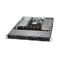 Серверная платформа SUPERMICRO SYS-5019P-MR  1U  Black