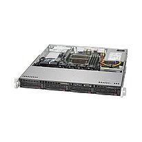 Серверная платформа SUPERMICRO SYS-5019S-M  1U  Black