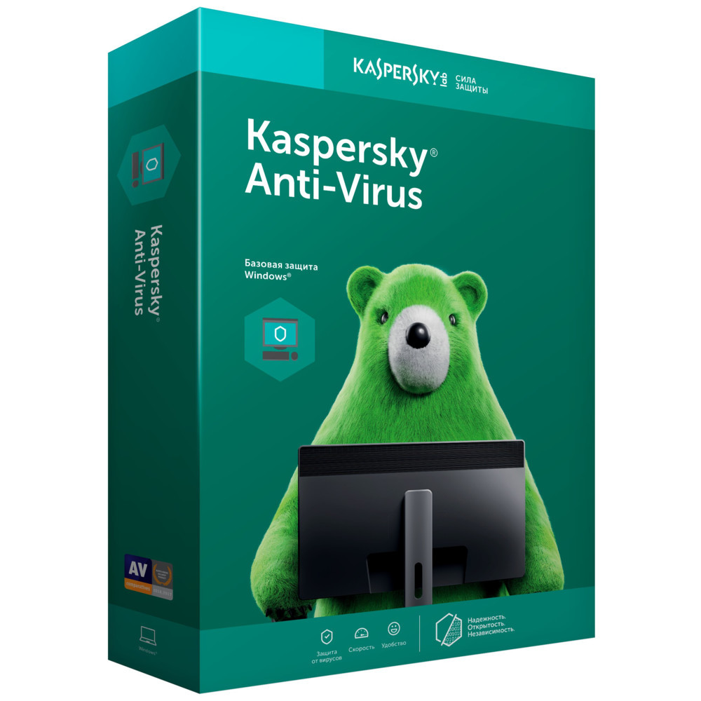 Программное обеспечение Kaspersky (KL19390UBFR_Card_21)