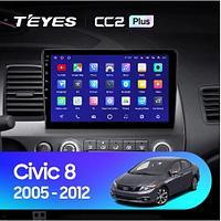 Магнитола Teyes на Андроиде для Honda Civic 8 2005-2012