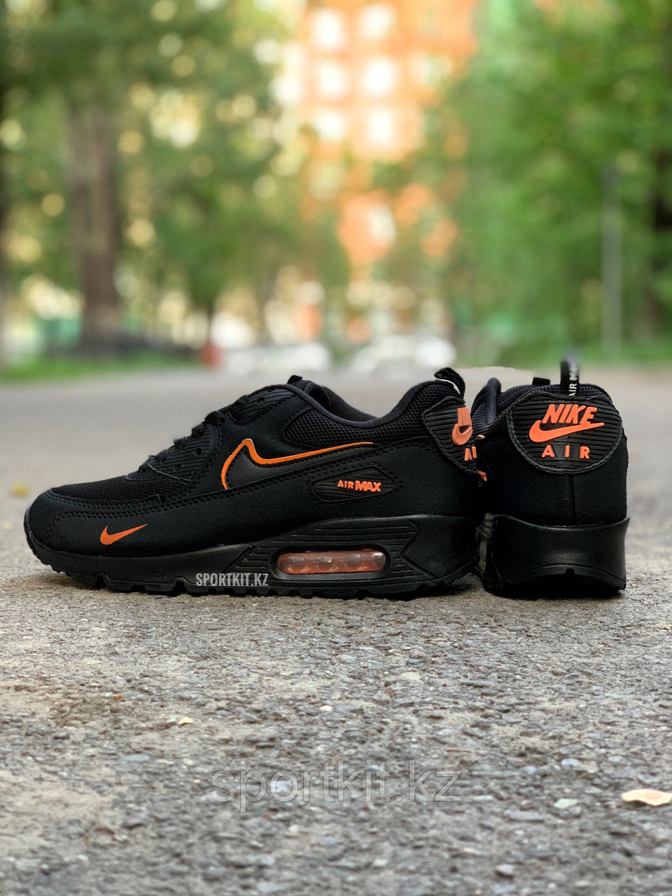 Кросс Nike Air Max 90 чвн оранж - фото 3