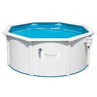 Сборный круглый бассейн Bestway Hydrium 56566 (300x120 см) с песочным фильтром, лестницей и тентом, фото 1