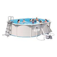 Сборный бассейн Bestway Hydrium 56586 (500x360x120) с песочным фильтром, фото 1