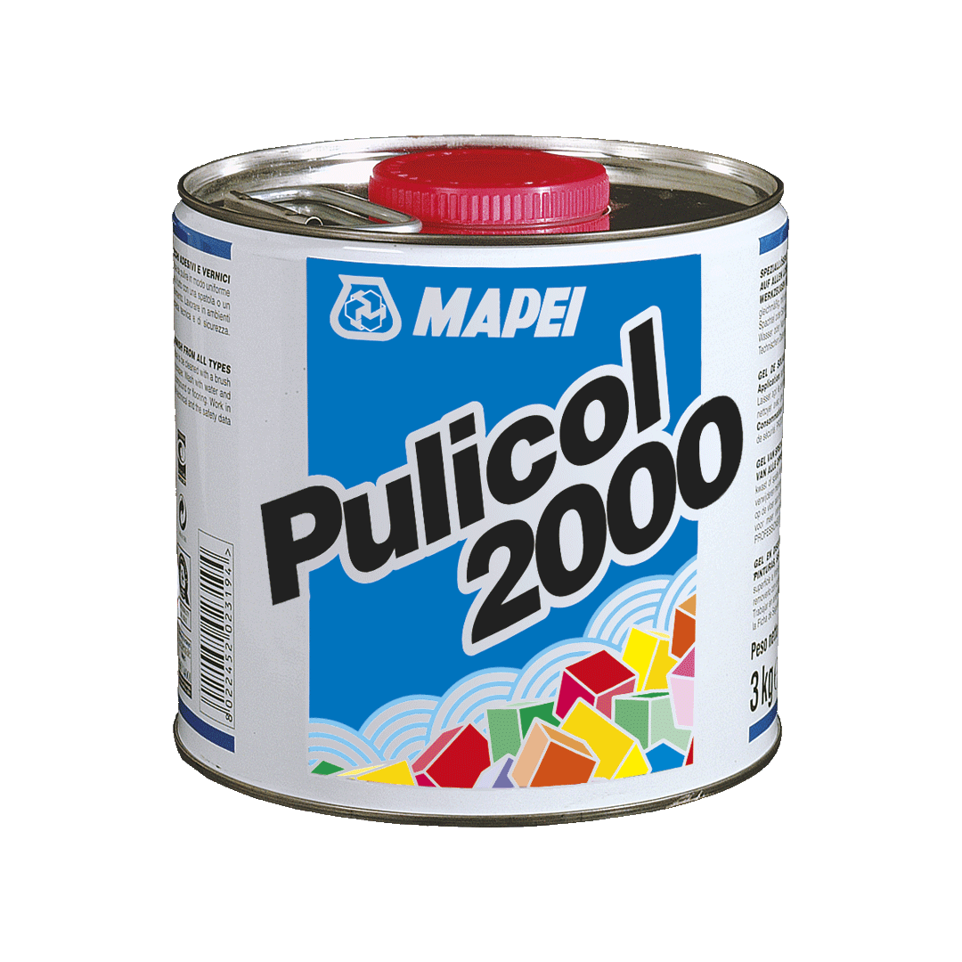 PULICOL 2000 гель растворитель (12 шт * 0,75 кг) Италия