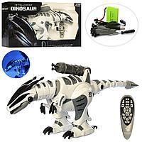 Радиоуправляемый Робот Динозавр INTELLIGENT DINOSAUR , ходит, рычит, танцует, стреляет.