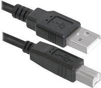Кабель DEFENDER USB04-10 USB2.0 AM-BM  3.0м (ДЛЯ ПРИНТЕРА)