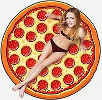 Полотенце «Пицца» круглое, пляжное,150 см