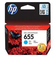 Картридж HP 655 Ink Advantage, Голубой (CZ110AE)