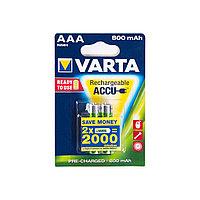 Аккумулятор  VARTA  R2U (HR03)  AAA  1.2 V  2 шт.  Блистер