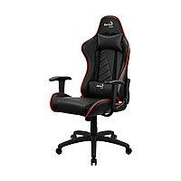 Игровое компьютерное кресло Aerocool AC110 AIR BR искусственная кожа
