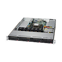 Серверная платформа SUPERMICRO SYS-5019P-M  1U  Black
