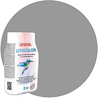 LITOCOLOR L.11 серая - затир. смесь (2kg Al.bag) 15 шт