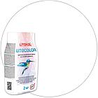 LITOCOLOR L.00 белая - затир. смесь (2kg Al.bag) 15 шт