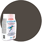 LITOCOLOR L.13 графит - затир. смесь (2kg Al.bag) 15 шт