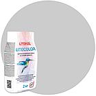 LITOCOLOR L.10 светло-серая - затир. смесь (2kg Al.bag) 15 шт