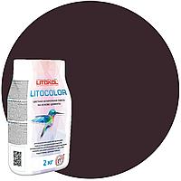 LITOCOLOR L.27 венге - затир. смесь (2kg Al.bag) 15 шт
