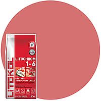 LITOCHROM 1-6 C.490 коралл затир.смесь (2kg Al.bag) 8 шт, фото 1