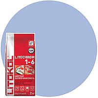 LITOCHROM 1-6 C.190 васильк.-затир.смесь (2kg Al.bag) 8 шт, фото 1