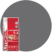 LITOCHROM 1-6 C.40 NEW антрацит-затир.смесь (2kg Al.bag) 15 шт, фото 1