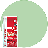 LITOCHROM 1-6 C.610 гиада-затир. смесь (2kg Al.bag) 8 шт, фото 1