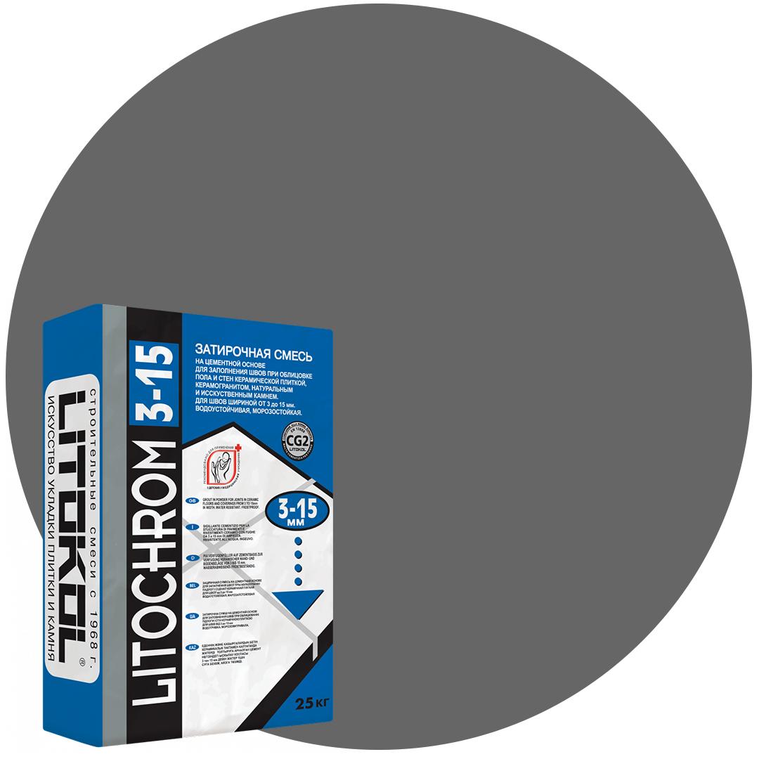 LITOCHROM 3-15 C.40 антр. затир. смесь (25kg bag)