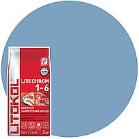 LITOCHROM 1-6 C.620 синяя ночь-затир. смесь (2kg Al.bag) 8 шт, фото 1