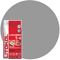 LITOCHROM 1-6 C.10 серая-затир.смесь (5kg Al.bag), фото 1