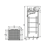 Холодильный шкаф Капри 0,7МВ, фото 2