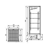 Холодильный шкаф Капри 0,5УМ, фото 2