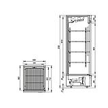 Холодильный шкаф Капри 0,5УСК, фото 2