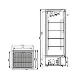 Холодильный шкаф Капри 0,7Н, фото 2