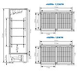 Холодильный шкаф Капри 1,5М (нержавейка), фото 2