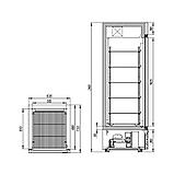 Холодильный шкаф Капри 0,5НСК, фото 2