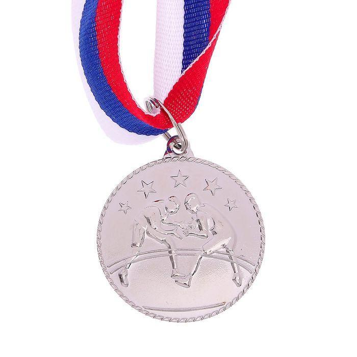 """Медаль тематическая 120 """"Вольная борьба"""" - фото 2"""
