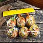 """Декор пасхальный подвеска """"Зайка в корзине с ромашками"""" набор 6 шт яйцо 5х7 см, фото 3"""