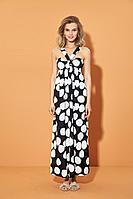 Женское летнее платье DiLiaFashion 0494 круги 48р.
