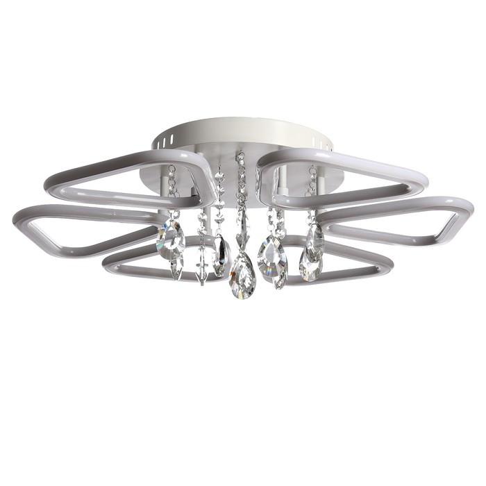 Люстра с ПДУ 14077004/6 LED 150Вт 3000-6000К белый 64х64х14 см