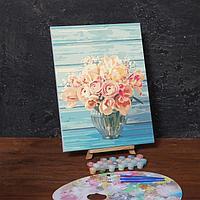 Картина по номерам на холсте с подрамником «Нежный букет», 40х30 см