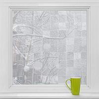 Витражная плёнка «Мозаика», 45×200 см, цвет прозрачный
