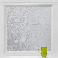 Витражная плёнка «Волна», 45×200 см, цвет прозрачный
